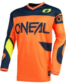 O'Neal 2021 Element Racewear Youth Jersey Orange/Blue