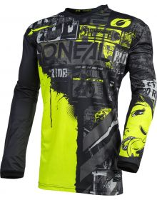 O'Neal 2021 Element Ride Youth Jersey Black/Neon
