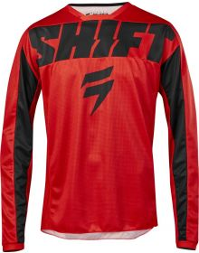 Shift 2019 Whit3 York Youth Jersey Red