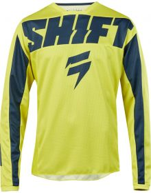 Shift 2019 Whit3 York Youth Jersey Yellow/Navy
