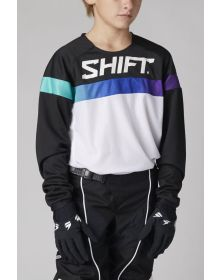 Shift MX White Label Ultra Youth Jersey White/Ultraviolet