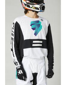 Shift MX Black Label UV Jersey White/Ultraviolet