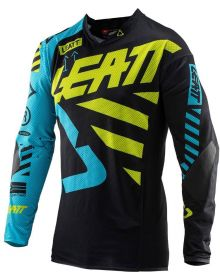 Leatt 2019 GPX 3.5 Junior Jersey Black/Lime