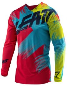 Leatt 2019 GPX 2.5 Junior Jersey Red/Lime