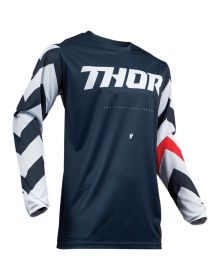 Thor 2019 Pulse Stunner Youth Jersey Midnight/White