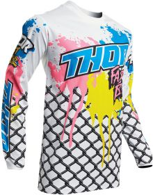 Thor 2020 Pulse Fast Boyz Youth Jersey White