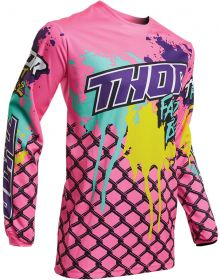 Thor 2020 Pulse Fast Boyz Youth Jersey Pink