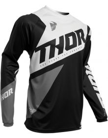Thor 2020 Sector Blade Youth Jersey Black/White
