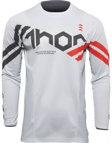 Thor 2022 Pulse Cube Youth Jersey Gray/Red