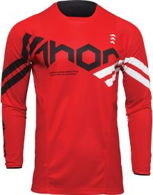 Thor 2022 Pulse Cube Youth Jersey Red/White