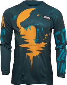 Thor 2022 Pulse Counting Sheep Youth Jersey Teal/Tangerine