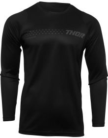 Thor 2022 Sector Minimal Youth Jersey Black