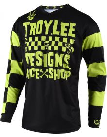 Troy Lee Designs 2019.1 GP Youth Jersey Race Shop 5000 Lime