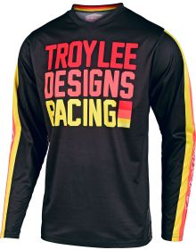 Troy Lee Designs GP Pre-Mix86 Youth Jersey Black/Yellow