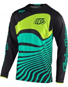 Troy Lee Designs GP Air Youth Jersey Drift Black/Turquoise