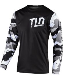 Troy Lee Designs GP Youth Jersey Camo White/Black