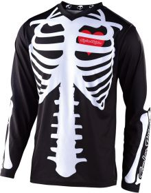 Troy Lee Designs GP Youth Jersey Skully Black/White