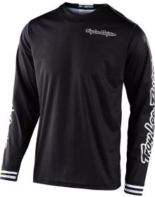 Troy Lee Designs GP Youth Jersey Mono Black
