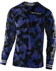 Troy Lee Designs GP Air Youth Jersey Confetti Navy
