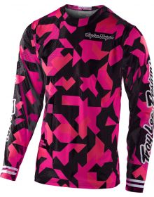 Troy Lee Designs GP Air Youth Jersey Confetti Pink
