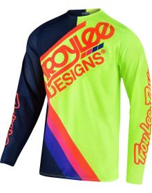 Troy Lee Designs GP Air Youth Jersey Tilt Navy/Flo Yellow