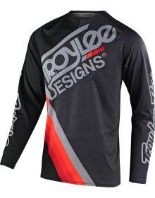 Troy Lee Designs GP Air Youth Jersey Black/Dark Gray