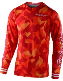 Troy Lee Designs GP Youth Jersey Confetti Orange
