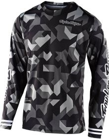 Troy Lee Designs GP Youth Jersey Confetti Black