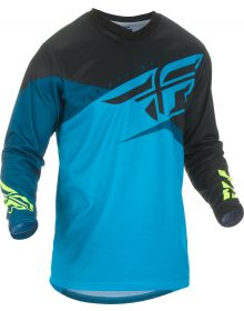 Fly Racing 2019 F-16 Youth Jersey Blue/Black/Hi-Vis