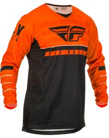 Fly Racing 2020 Kinetic K120 Youth Jersey Orange/Black/White