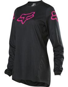 Fox Racing 2020 180 Prix Womens Jersey Black/Pink