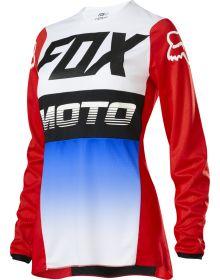 Fox Racing 2020 180 Fyce Womens Jersey Blue/Red