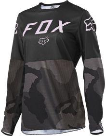 Fox Racing 2021 Legion LT Womens Jersey Black/Camo