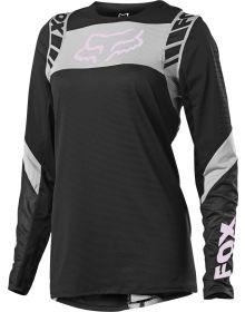 Fox Racing Flexair Mach One Womens Jersey Black