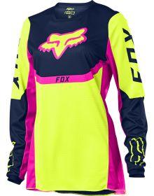 Fox Racing 180 Voke Womens Jersey Flo Yellow