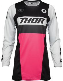 Thor 2021 Pulse Racer Womens Jersey Black/Pink