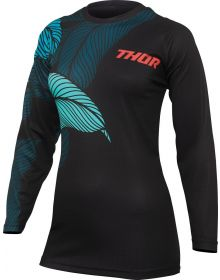 Thor 2022 Sector Urth Womens Jersey Black/Teal