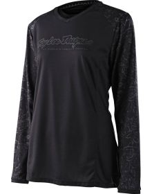Troy Lee Designs GP Womens Jersey Floral Black