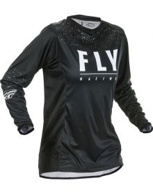 Fly Racing 2020 Lite Womens Jersey Black/White