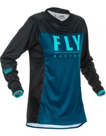 Fly Racing 2020 Lite Womens Jersey Navy/Blue/Black