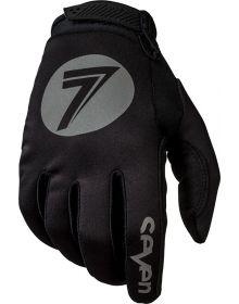 Seven 18.1 Zero Cold Weather Gloves Black