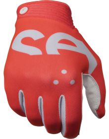 Seven Zero Crossover Gloves Coral