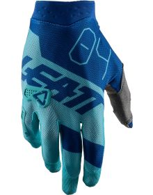 Leatt GPX 3.5 X-Flow Gloves Aqua