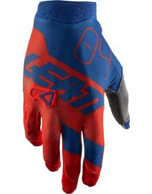Leatt GPX 3.5 X-Flow Gloves Red
