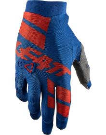Leatt GPX 3.5 X-Flow Gloves Royal