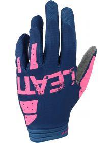 Leatt Moto 1.5 GripR Glove Blue/Pink