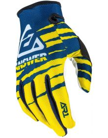 Answer 2020 AR1 Pro Glow Glove Yellow/Midnight/White