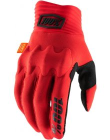 100% Cognito Gloves Red/Black