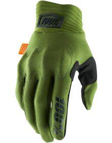 100% Cognito Gloves Green/Black