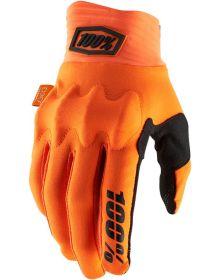 100% Cognito Gloves Orange/Black
